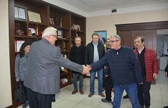 Gazetecilerden Posbıyık'a ziyaret…