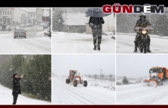 Karabük'te 209 köy yolu ulaşıma kapandı