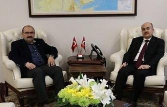 Vali Dağlı'ya Trabzon ve Bişkek valilerinden ziyaret