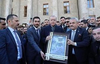 AK Parti İl Gençlik Kolları, Cumhurbaşkanı Erdoğan ile bir araya geldi