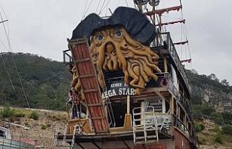 Akçakoca Belediyesinin 25 metrelik teknesi geliyor