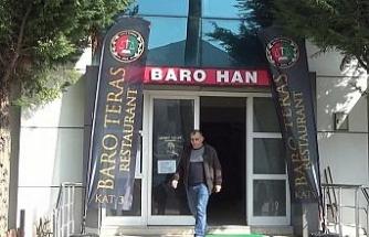 Baronun ruhsatsız içkili kafeteryası mühürlendi