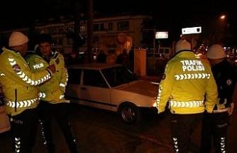 Düzce polisinden Şahin avı
