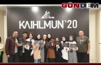 Öğrenciler uluslararası konferansa katıldı...
