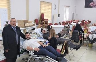 Ormanlı'da rekor kan bağışı