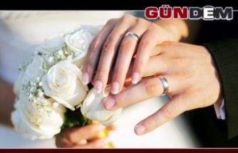 Zonguldak'ta evlenme verileri!