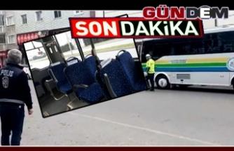 Halk Otobüsleri denetlendi; 1 sürücü ceza yedi!