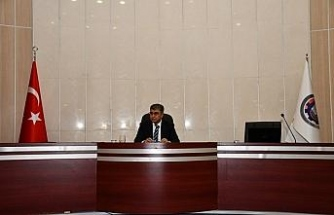 Karabük'te, Korona virüs çalışmaların değerlendirildiği İl Pandemi Kurulu toplantısı yapıldı