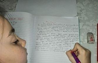 Öğrencilerin yazdıkları kitaplaştırılıyor