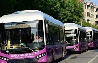 Düzce'de halk otobüsleri sefer saatlerinde yeni düzenleme