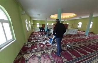Kaynaşlı'da tüm camiler temizlendi