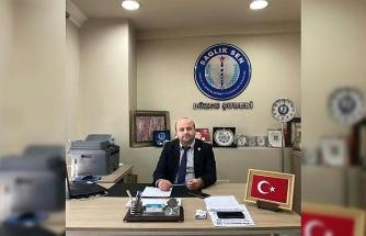 """Sağlık-Sen Başkanı Özal """"112 çalışanlarının hastane yemeklerinden yemeli"""""""