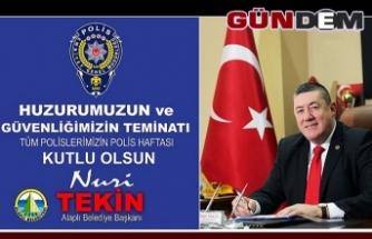 TÜRK POLİS TEŞKİLATININ 175. YIL DÖNÜMÜ MESAJI...