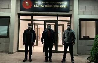 Grizu-263 Uzay Takımı, Çankaya Köşkü'nde...