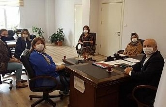 Kreş yöneticileri ile toplantı yapıldı