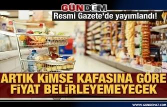 Marketlerde yeni dönem! Resmi Gazete'de yayımlandı!