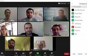 Uluslararası toplantı online gerçekleştirildi