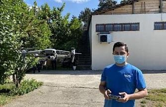 Vatandaşların sokak hasretinde drone uçurdu canlı yayın yaptı