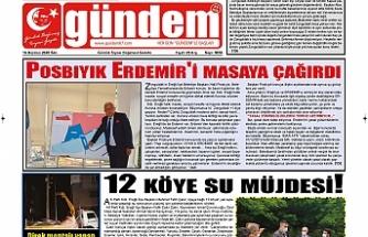 16 Haziran 2020 Salı Gündem Gazetesi
