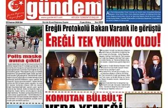 23 Haziran 2020 Salı Gündem Gazetesi