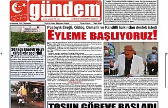 24 Haziran 2020 Çarşamba Gündem Gazetesi