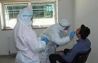 Asker adaylarına korona virüs testleri yapıldı
