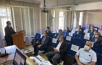 Bartın'da, IFAD 2020 yılı yatırım ve koordinasyon kurul toplantısı yapıldı
