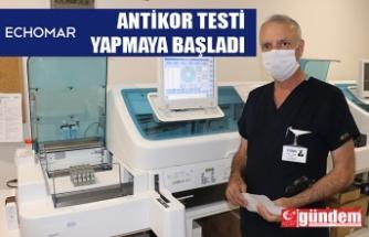 ECHOMAR ANTİKOR TESTİ YAPMAYA BAŞLADI