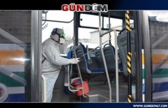 Halk otobüslerinde titizlik üst düzeyde...