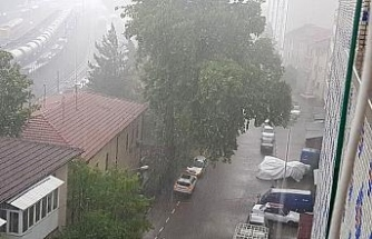 Karabük'te sağanak yağmur hayatı olumsuz etkiledi