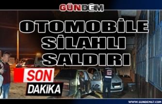 Otomobile silahlı saldırı...