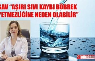 SICAK HAVALARDA SIVI KAYBINA DİKKAT!