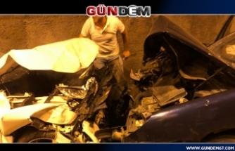 Tünelde feci kaza, 3 yaralı