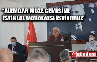 """""""ALEMDAR MÜZESİNE MADALYA İSTİYORUZ"""""""