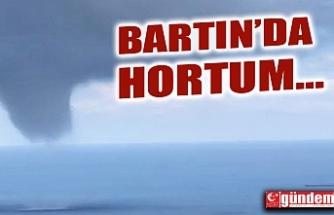 BARTIN'DA HORTUM MEYDANA GELDİ