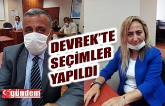 DEVREK'TE SEÇİMLER YAPILDI