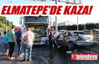 ELMATEPE'DE KAZA!
