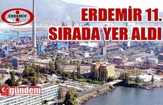 ERDEMİR, FORTUNE 500'DE 11. SIRADA YER ALDI