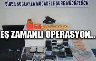 EŞ ZAMANLI YASADIŞI BAHİS OPERASYONU...