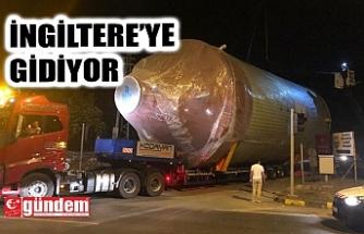 İNGİLTERE'DEN SİPARİŞ VERİLMİŞTİ...
