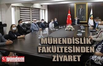 MÜHENDİSLİK FAKÜLTESİNDEN VALİ TUTULMAZ'A ZİYARET