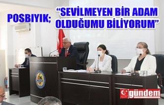 POSBIYIK MECLİS TOPLANTISINDA KONUŞTU