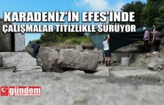 TİEİON ANTİK KENTİ TARİHE IŞIK TUTUYOR
