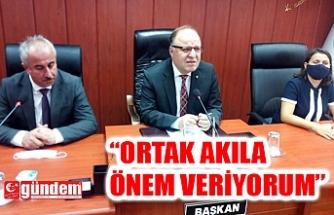VALİ TUTULMAZ'DAN İL GENEL MECLİSİNE ZİYARET