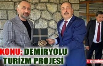 TCDD GENEL MÜDÜRÜ YAZICI'DAN ZTSO'YA ZİYARET