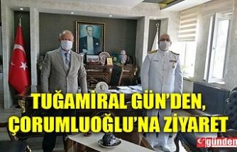 TUĞAMİRAL GÜN'DEN ÇORUMLUOĞLU'NA ZİYARET