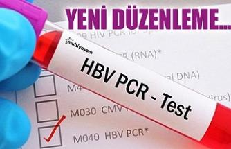 TÜRKİYE'YE GİRİŞ ÇIKIŞLARDA UYGULANAN PCR TESTLERİNDE YENİ DÜZENLEME