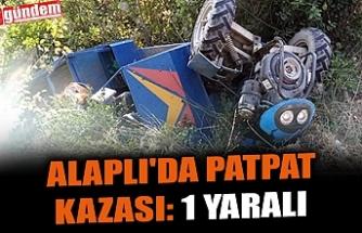 ALAPLI'DA PATPAT KAZASI: 1 YARALI