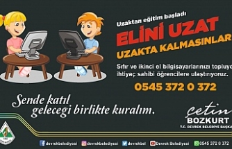 DEVREK BELEDİYESİ'NDEN ANLAMLI KAMPANYA !