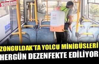 HERGÜN DEZENFEKTE EDİLİYORLAR...